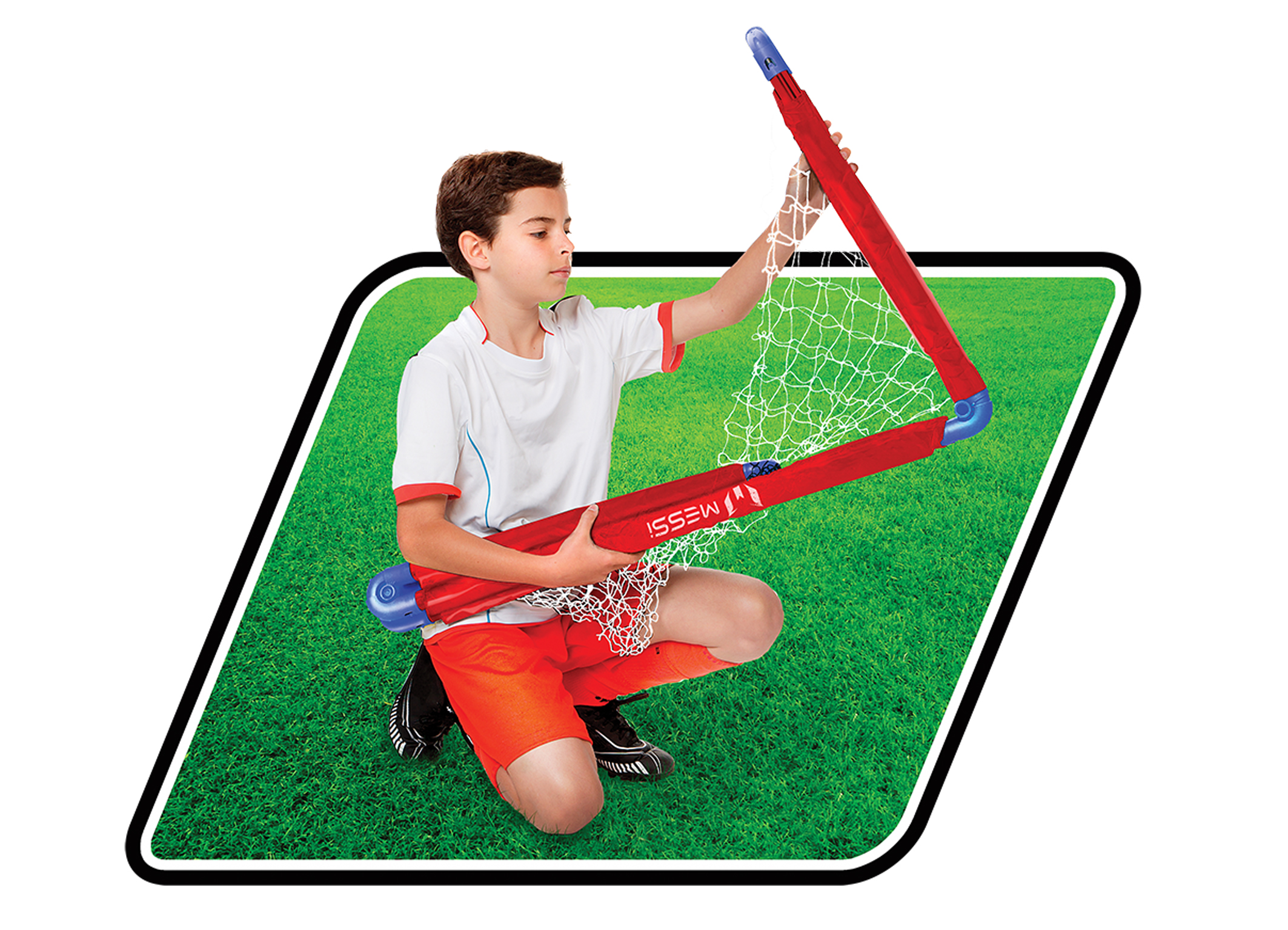 a793b0bd9 FOLDABLE GOAL LARGE - Messi Training System