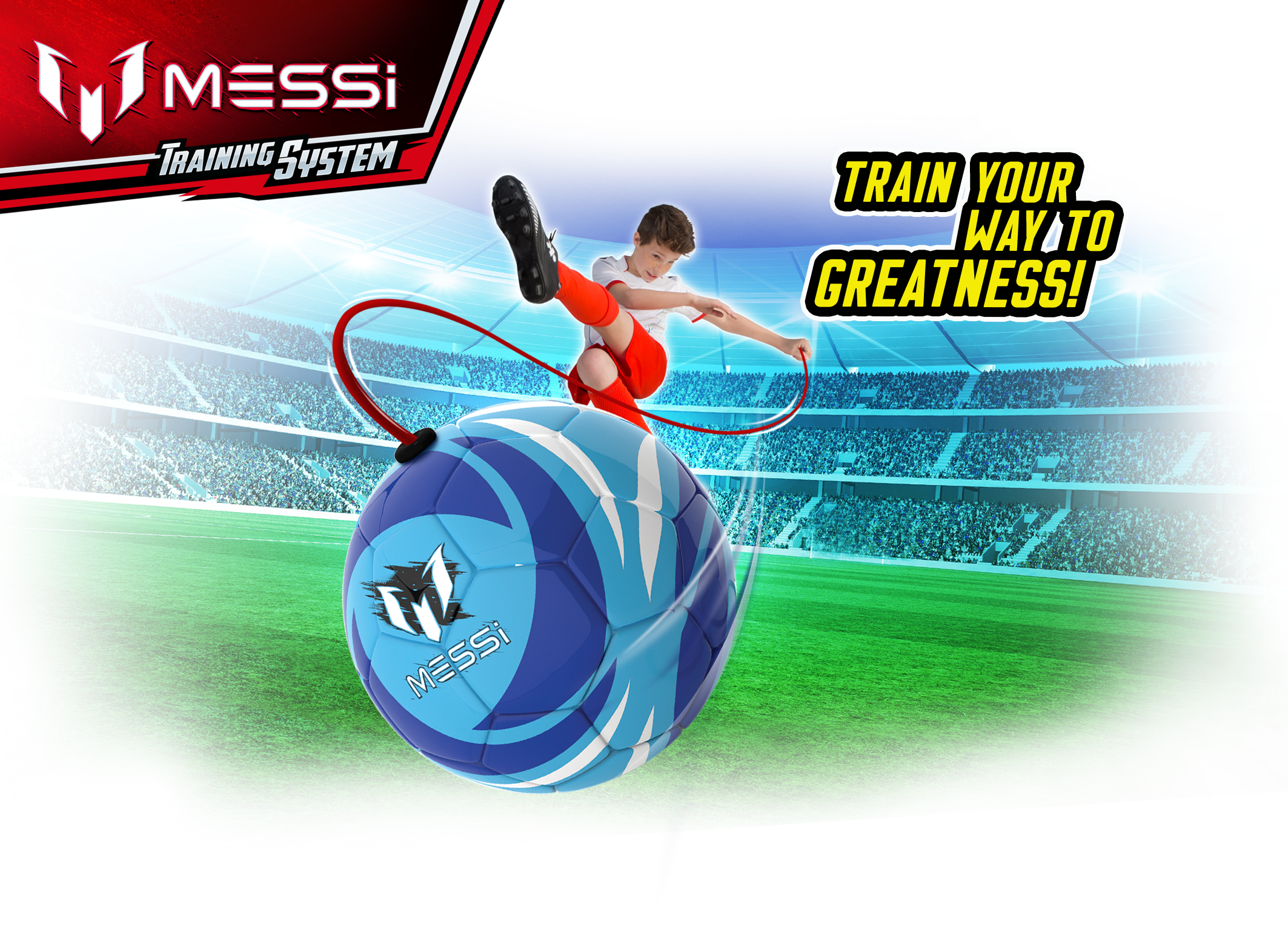 SOFT TOUCH TRAINING BALL - Messi Training System 06958d5d86d77